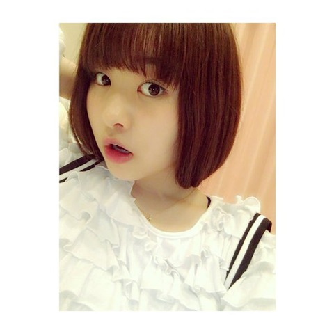 【AKB48】髪をバッサリ切った中西智代梨が可愛すぎると話題に!!!