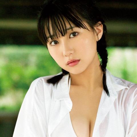 【HKT48】みくりんの巨乳が限界突破の動画【田中美久】