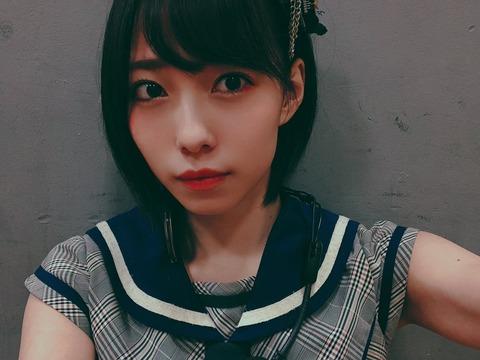【NMB48】石塚朱莉「他のチーム公演にまたぎで出るのは浮気行為と考えちゃうタイプ」
