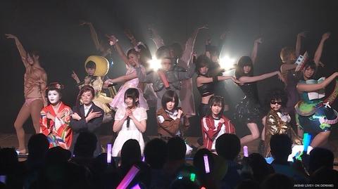 【AKB48】カオス公演を喜んでる奴はバカ、劇場という聖地を汚した最悪の愚行