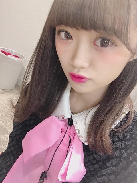 【NGT48】中井りかの自撮り、不気味すぎワロタwwwwww