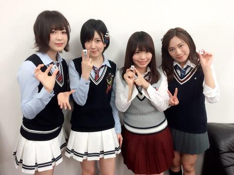 SKE48松村香織が「NMB48須藤凜々花の麻雀ガチバトル!りりぽんのトップ目とったんで!」に出演