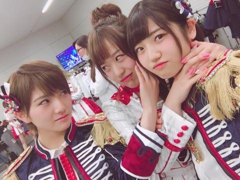 【AKB48】篠崎彩奈「ゆいりーと仲いいのにヲタから人気メンに近寄るなと言われて辛い」