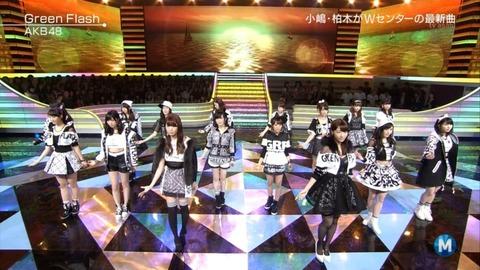 【AKB48】39th「Green Flash」4日目の売上は50240枚