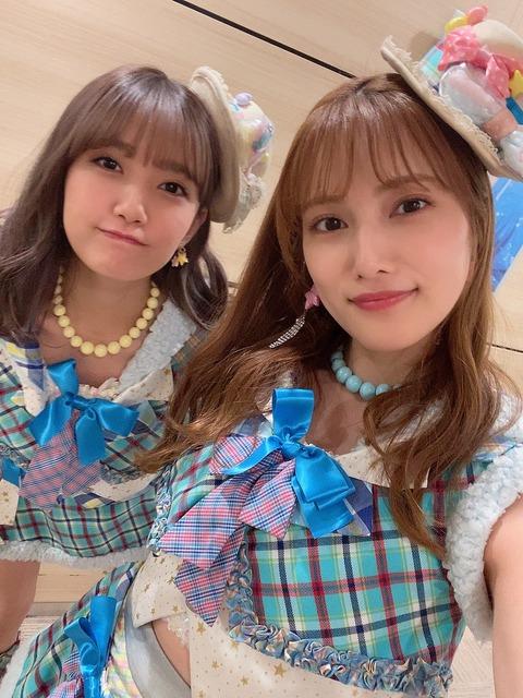 【AKB48】10年以上涼しい顔でパフォーマンスしてる入山杏奈と加藤玲奈ってむしろやる気があるんじゃないか?