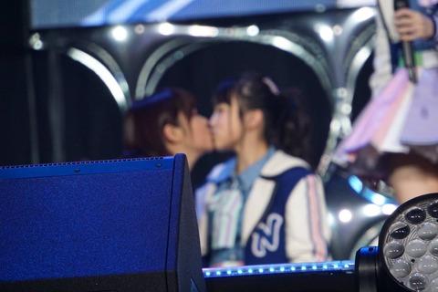 【HKT48】矢吹奈子と指原莉乃がキスwww