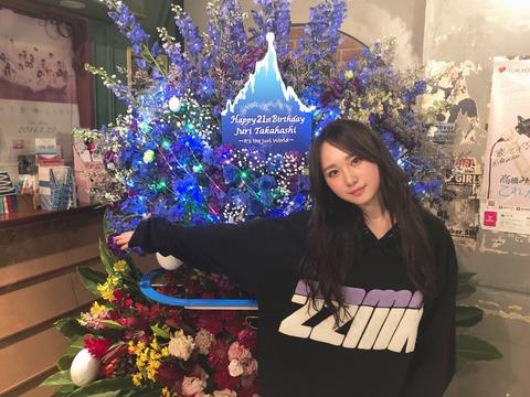 【速報】AKB48高橋朱里の卒業公演日程が5月2日に決定