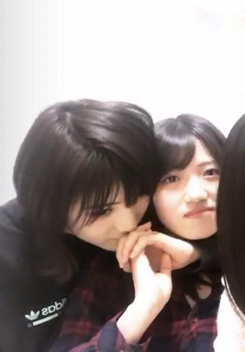 【AKB48】岡田奈々と村山彩希の濃密で危険な関係・・・