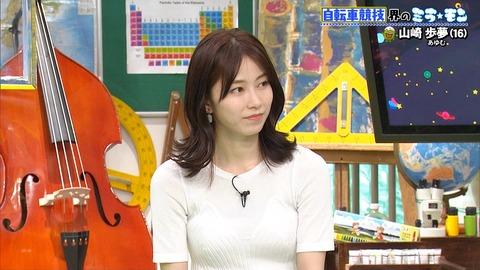 【AKB48】ゆいはんが巨乳化して透け乳【横山由依】