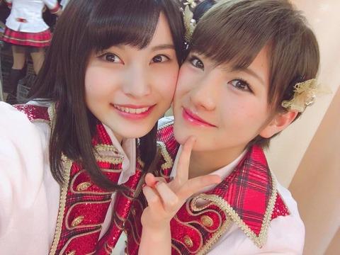 【AKB48】岡田奈々vs福岡聖菜【良心メンバー】