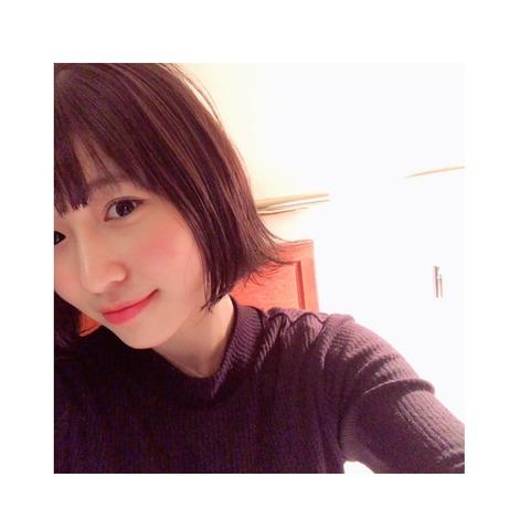 【HKT48】山下エミリー「人生初髪の毛を染めました!黒髪が好きっていってくれてた方ごめんなさい!」