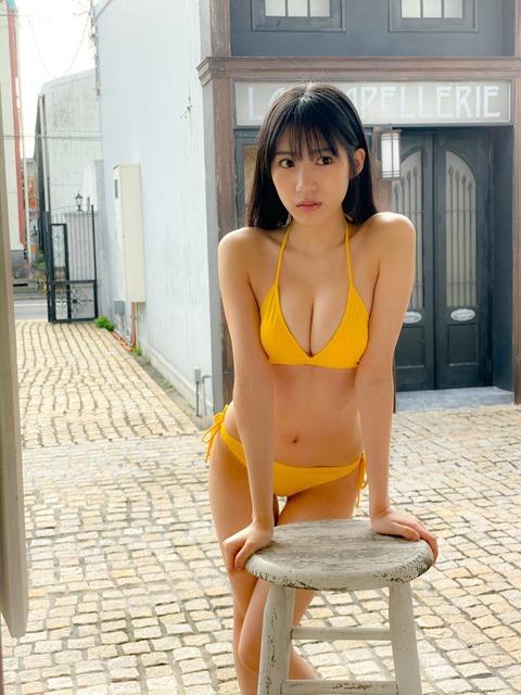 【乳神様】NMB48横野すみれさんのど迫力お〇ぱい!!!