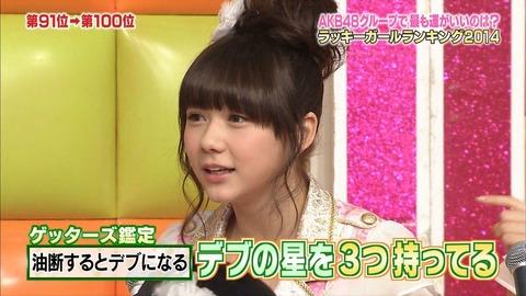 【AKB48G】曲名の一部をデブにして一番太ましいやつが優勝