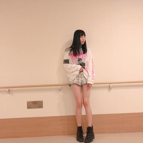 【NMB48】石塚朱莉ちゃんの脚が最高過ぎるwww【あんちゅ】