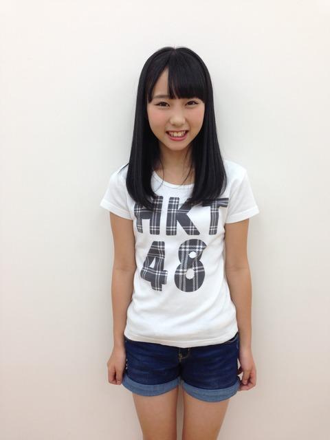 【HKT48】田中美久ちゃん、身体がエロく育って最高だな!!!