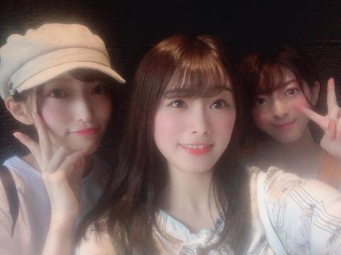 【朗報】山口真帆、菅原りこ、長谷川玲奈がついに再会!
