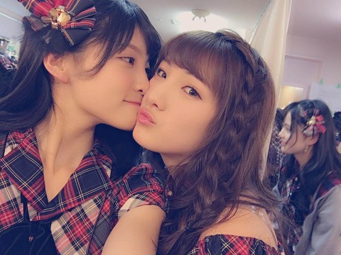 【AKB48】谷口めぐ、なぁめぐに飽き足らず村山彩希を加えた三角関係に持ち込む模様