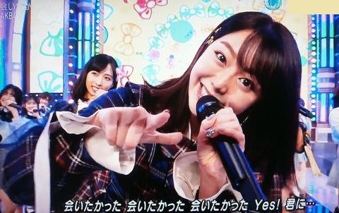 【AKB48】最後のレジェンドメンバー峯岸みなみさん、MステSPで爪跡を残す