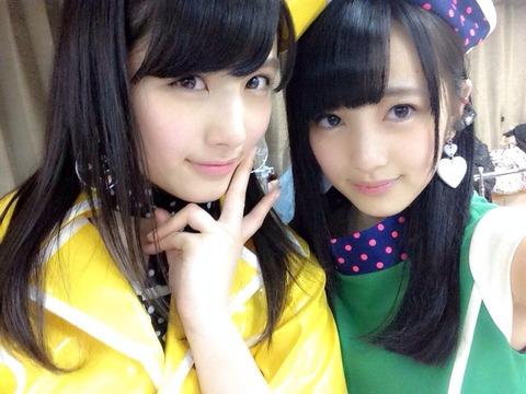 【AKB48】なーにゃとみーおんどっちが好き?【大和田南那・向井地美音】