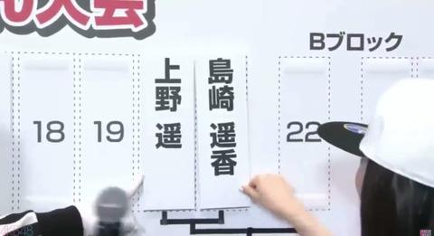 【悲報】ぱるる、じゃんけん対戦相手「上野遥」の名前を見て「誰だよ」www【AKB48・島崎遥香】