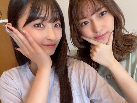 【HKT48】山下エミリーと松本日向がBOMBの撮影!BOMB12月号はHKTメンバーが沢山!