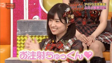 【AKB48】お注射ちゅっくんしてほしいメンバーは誰?