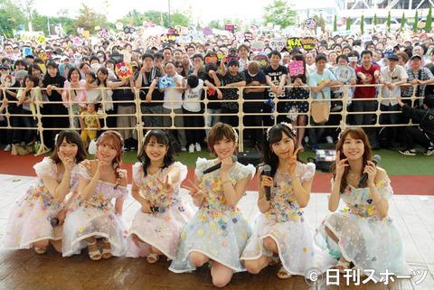 【AKB48】アリオ柏に3000人でフリーイベント大成功!発案者・柏木由紀の狙いがピタリと的中した