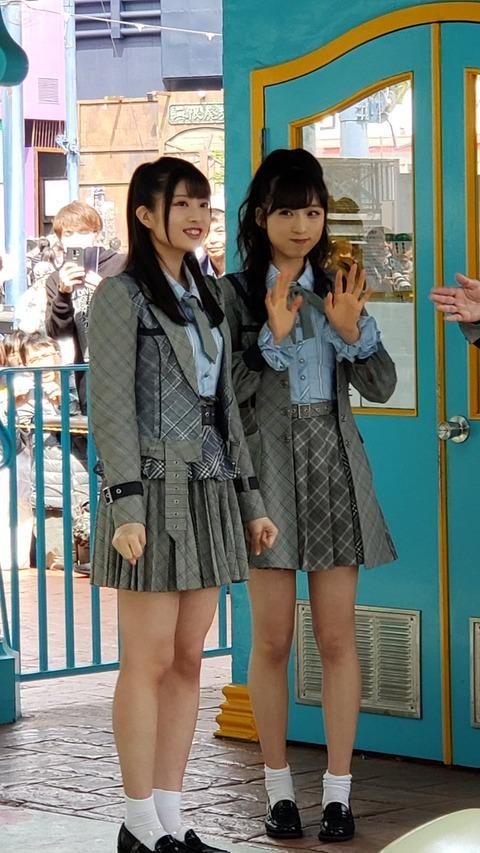 【悲報】小栗有以ちゃん、行天優莉奈ちゃんに潰されてしまうwww【AKB48】