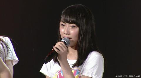 【NMB48】D2西仲七海が卒業発表!