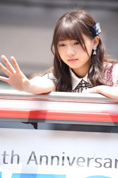 【画像】ゆりあちゃんの顔に全く生気がない【AKB48・木﨑ゆりあ】