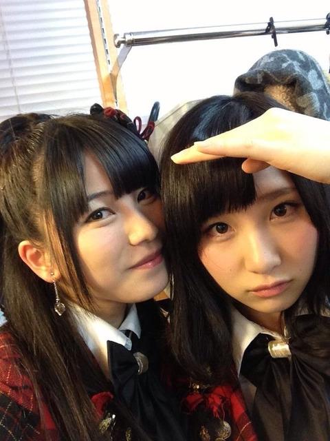 【AKB48G】川の字に挟まれて寝たいメンバーふたり