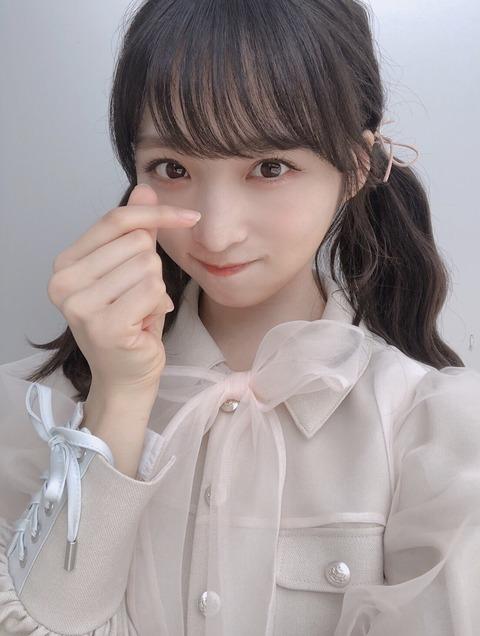 【悲報】AKB48不動のセンター小栗有以さん、全盛期の松原夏海以上・仲谷明香未満の人気知名度だった