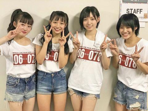 【悲報】NMB48新曲で城恵理子が選抜入り