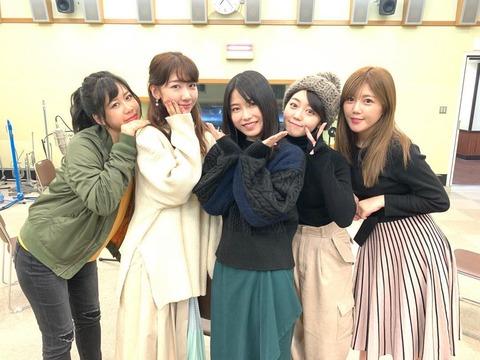 【AKB48】1期生・峯岸みなみ(26)、3期生・柏木由紀(27)、4期生・大家志津香(27)、5期生・宮崎美穂(25)