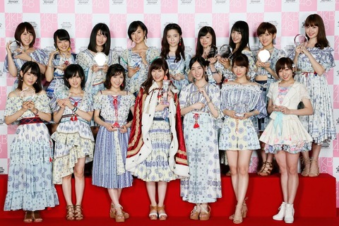 【AKB48総選挙】実力以上に高い順位に押し上げられると翌年はだいたい落ちるよね