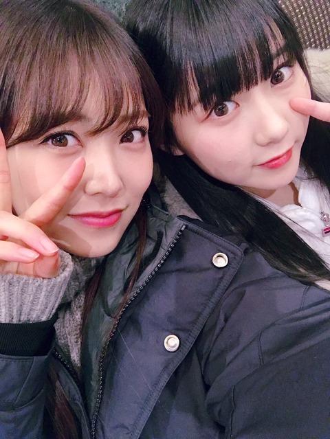 NMB48白間美瑠とHKT48田中美久がMステSP前に2人で遊びに行ってたことが発覚!