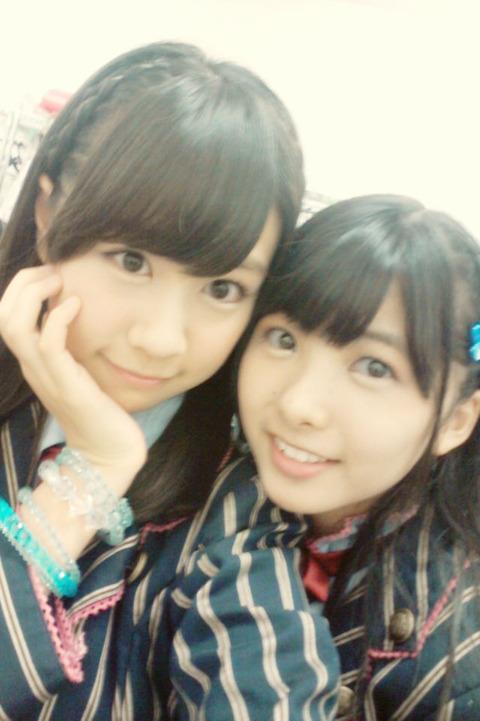 【HKT48】岡田栞奈vs若田部遥お前らどっちが好き?
