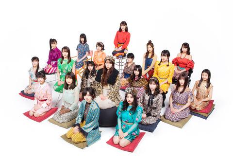 【NMB48】20thシングル「床の間正座娘」4次終了時の完売状況がこちら