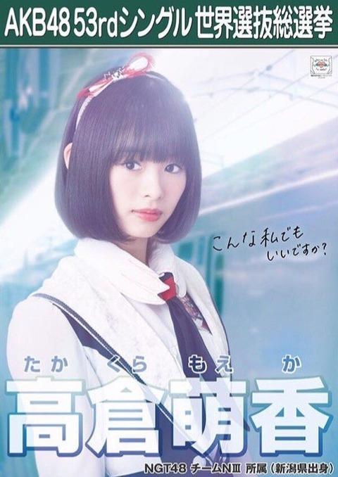 【NGT48】高倉萌香ちゃんが愛おしくてたまらない【おかっぱ】