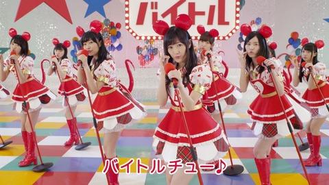 もう何年ないのだろう、AKB48が出演するCM
