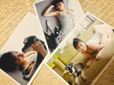 【朗報】みくりんが乳放り出したグラビアオフショットを公開!!!【HKT48・田中美久】