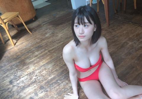 【神乳】NMB48上西怜ちゃんのふわとろお●ぱいキタ━━━(゚∀゚)━━━!!