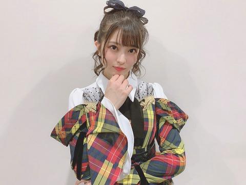 【悲報】AKB48チーム8行天優莉奈さんの常識力www