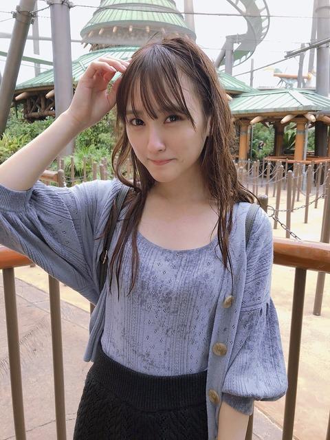 【HKT48】びしょ濡れになった植木南央がちょっとエロい