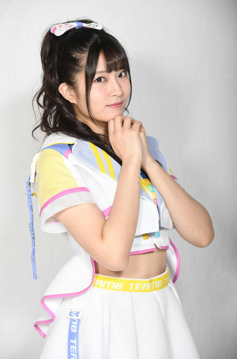 【AKB48】チーム8行天優莉奈(美人、スタイル良い、天然キャラ、毎日アイドル、巨乳)←ハイスペックだよな