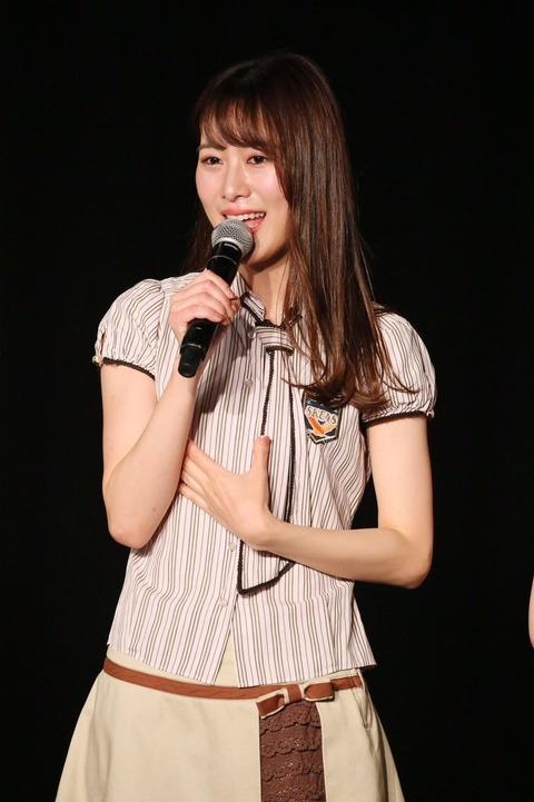 【SKE48】高木由麻奈、劇場公演にて卒業発表