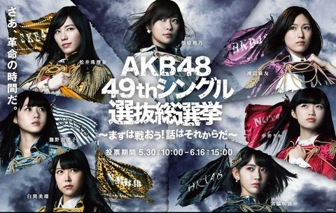 【AKB48総選挙】2018年は宮脇咲良と松井珠理奈の一騎打ちへ