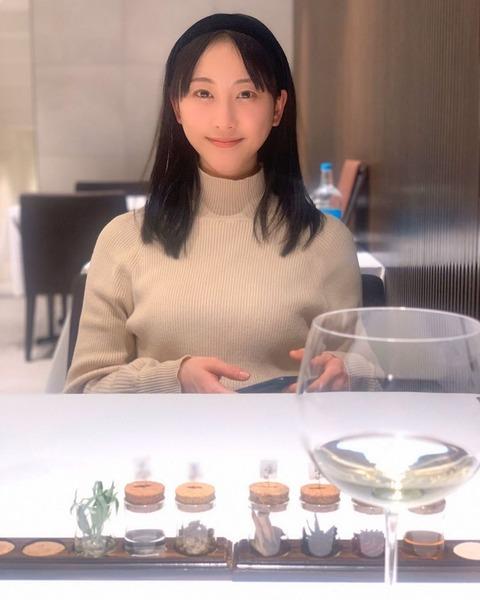 【朗報】松井玲奈さん、突如として巨乳化してしまうwww