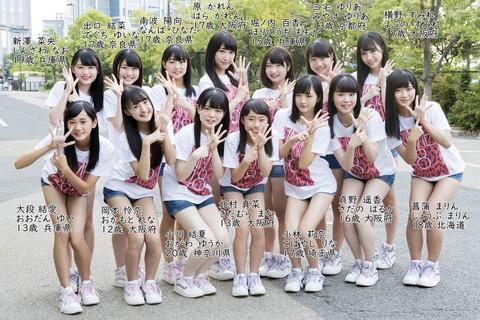 NGT48の2期とNMB48の6期、可愛い子多くね?