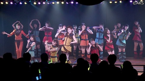 【AKB48】チームA・10人、チームK・11人、チームB・7人(キャプテン不在)、チーム4・14人←このヤバさについて